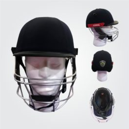 ASUSA Test Cricket Helmet with Neck Guard