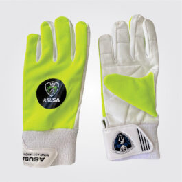 WK Inner Gloves (White/Green)