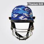 ASUSA TITANIUM CAMO PRO Cricket Helmet with Adjuster